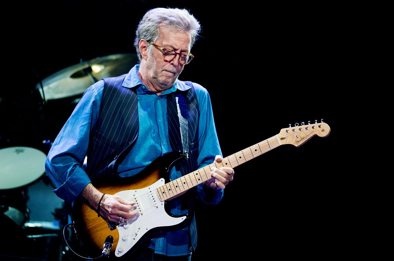 Torna in Italia Eric Clapton