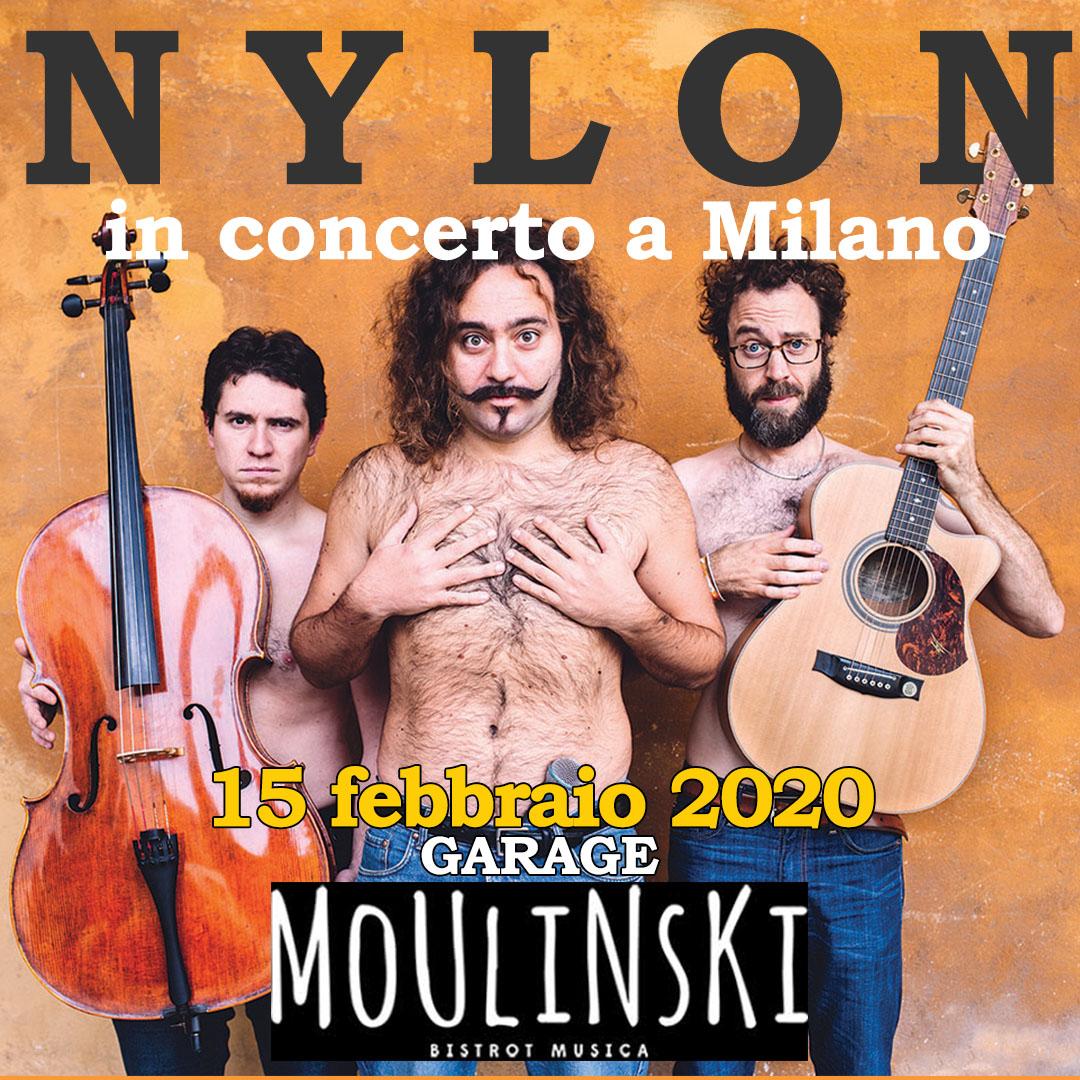 NYLON in concerto al GARAGE MOULINSKI di Milano