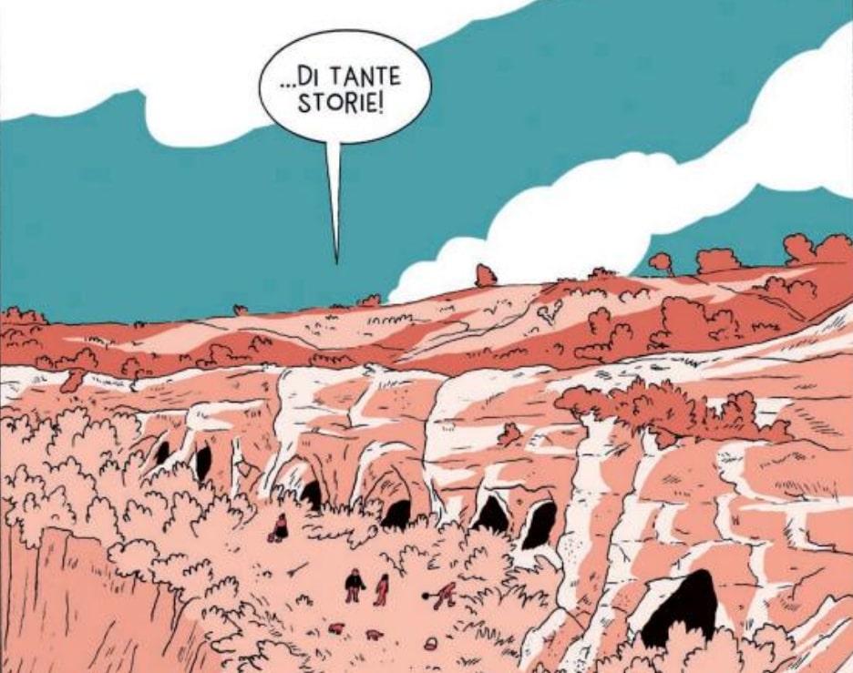 MiBACT, le grotte di Matera protagoniste di Fumetti nei Musei per #ioleggoacasa