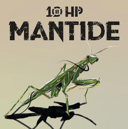 10 HP – MANTIDE: esce il 20 marzo il nuovo album della rock band siciliana
