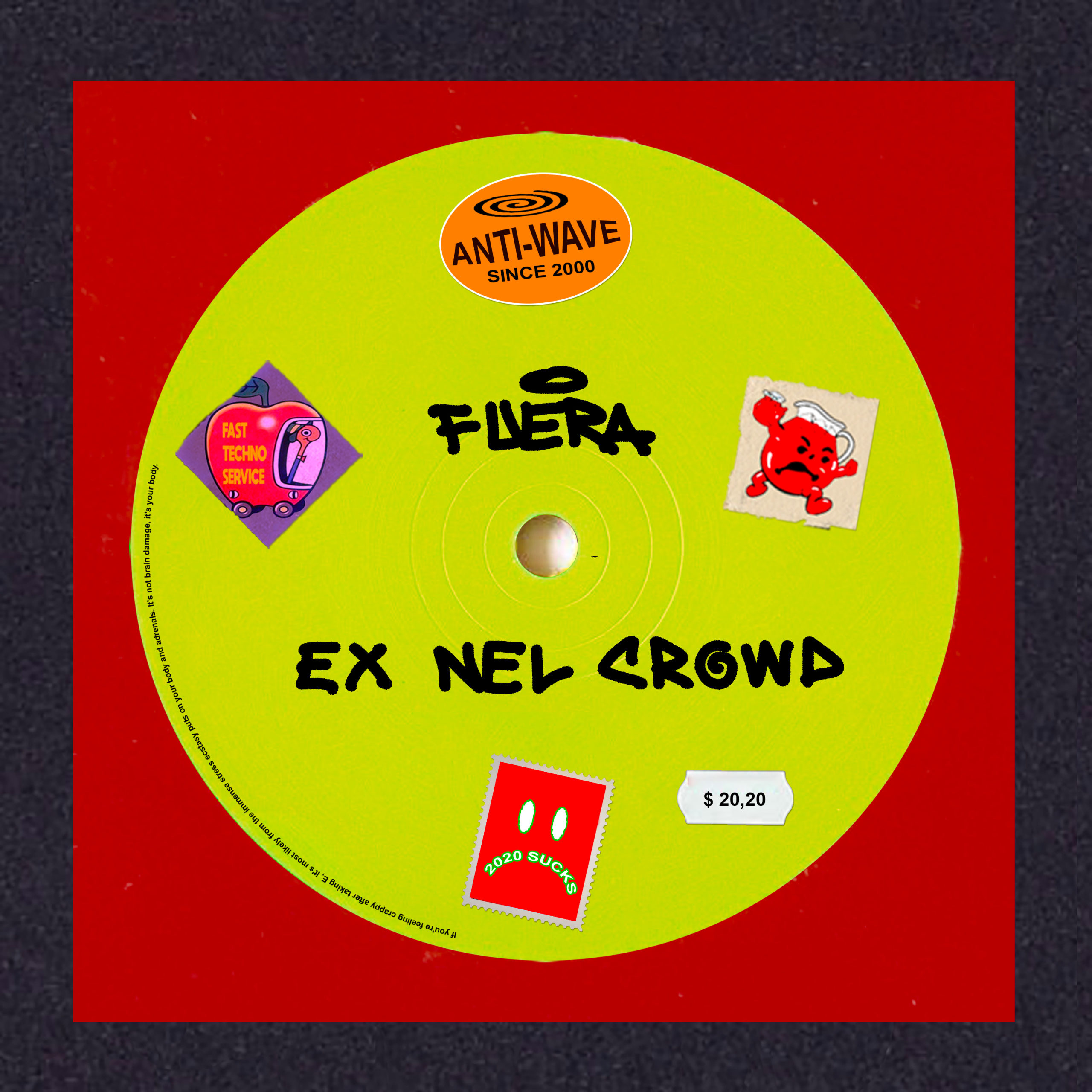 """Read more about the article """"EX NEL CROWD"""" FUERA"""