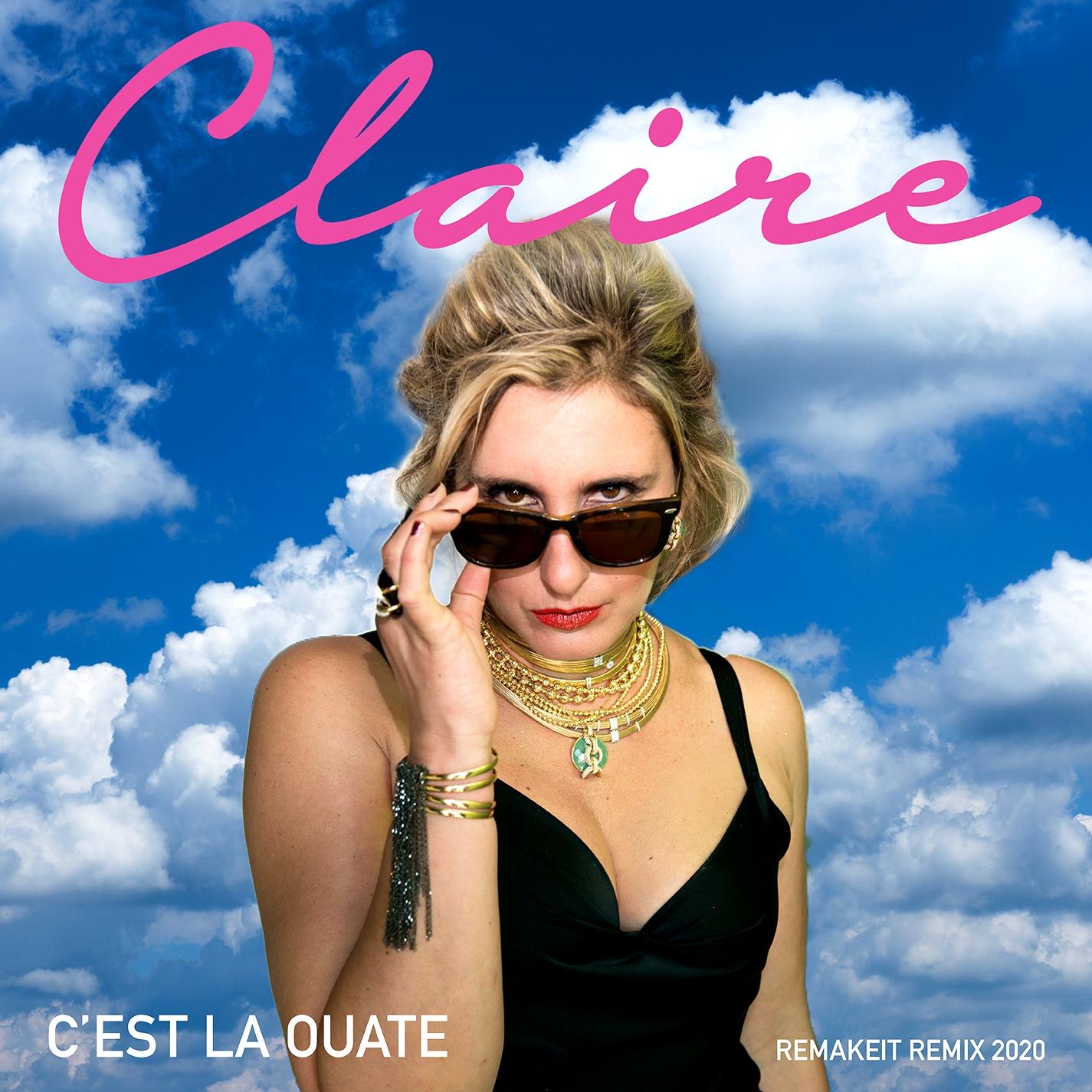"""Claire in radio con """"C'est la ouate"""" remix"""