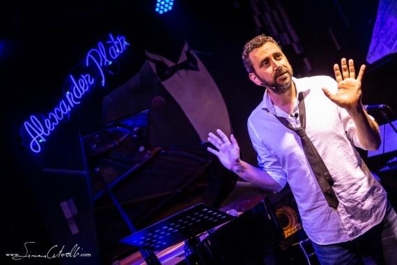 Daniele Monterosi presenta lo spettacolo Bohemian Simphony