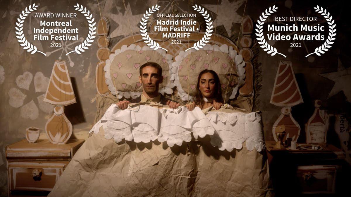 """Il videoclip""""Libertà"""",primo singolo del cantautore siciliano Peppe Lana, vince due prestigiosi premi internazionali: """"Best Music Video""""alMontreal Independent Film Festival e """"BestDirector""""alMunich Music Video Awards"""