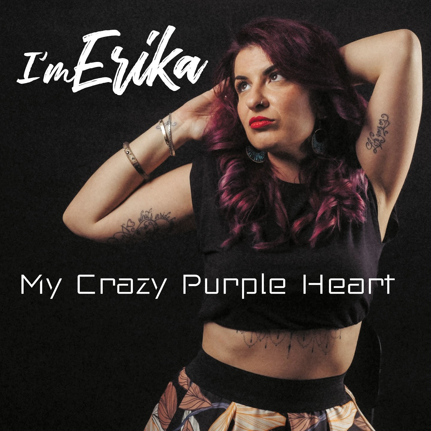 """You are currently viewing """"MY CRAZY PURPLE HEART"""" IL NUOVO SINGOLO DI I'M ERIKA"""