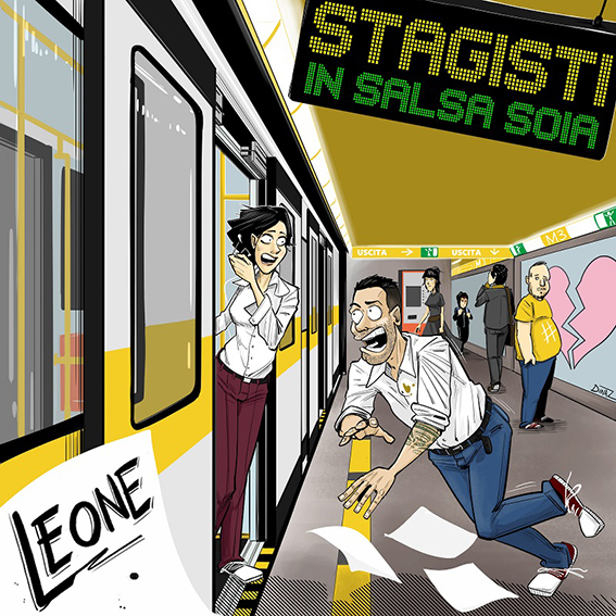 """Read more about the article """"STAGISTI IN SALSA SOIA"""" il singolo per l'estate di LEONE"""